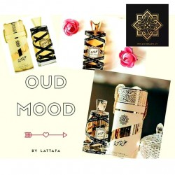 SET  OUD MOOD GOLD  by Lattafa &  OUD MOOD REMINISCENCE by Lattafa
